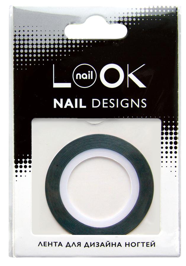 nailLOOK Лента для дизайна ногтей Stripping tape30685Striping tape Лента для дизайна ногтей, полоски. Лента - очень простой в использовании материал для создания эффектных и неповторимых дизайнов. Ленту можно использовать двумя способами,как декоративный элемент дизайна, идеально сочетается с эмалевыми лаками или в качестве вспомогательного материала для создания дизайна с геометрическими рисунками. Нанесите цветной лак.Дайте высохнуть. Приклейте ленту на ноготь. Нанесите лак поверх ленты. Аккуратно удалите ленту пока лак не высох. Нанесите топовое покрытие.