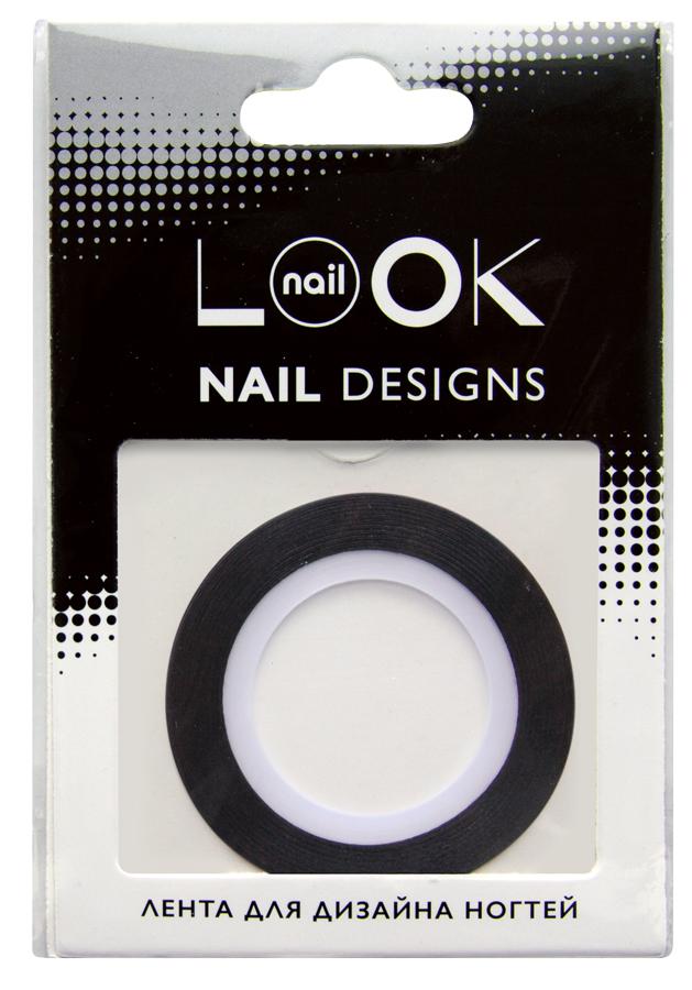 nailLOOK Лента для дизайна ногтей Stripping tape6Striping tape Лента для дизайна ногтей, черный. Лента - очень простой в использовании материал для создания эффектных и неповторимых дизайнов. Ленту можно использовать двумя способами,как декоративный элемент дизайна, идеально сочетается с эмалевыми лаками или в качестве вспомогательного материала для создания дизайна с геометрическими рисунками. Нанесите цветной лак.Дайте высохнуть. Приклейте ленту на ноготь. Нанесите лак поверх ленты. Аккуратно удалите ленту пока лак не высох. Нанесите топовое покрытие.