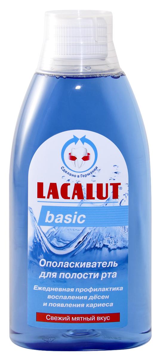 Lacalut Ополаскиватель для рта Basiс 500мл84850536_золушка/голубой, розовыйОполаскиватель Lacalut для рта Бейсик сохраняет природную белизну зубов. Предотвращает образование зубного камня. Устраняет неприятный запах изо рта. Снижает уровень воспаления дёсен. Ополаскиватель предназначен для ежедневного ухода за гигиеной всей полости рта. Благодаря комбинации активных веществ, сокращает степень образования бактериального налета. Не заменим при использовании зубных протезов. Не требует разбавления водой.