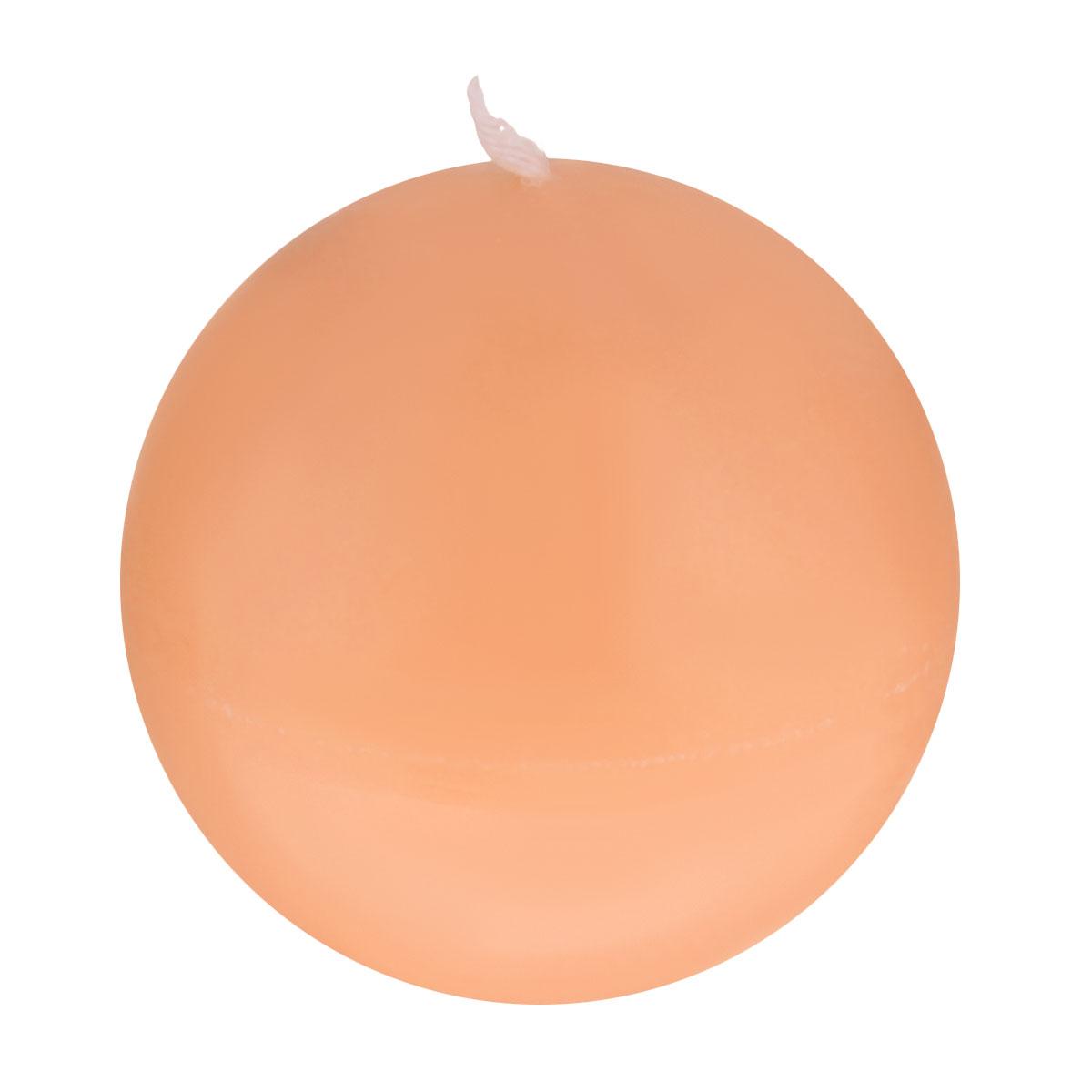 Свеча декоративная Proffi Шар, цвет: оранжевый, диаметр 7,5 смES-412Шарообразная декоративная свеча Proffi Шар изготовлена из парафина, стеарина. Предназначена для освещения и украшения помещений. Такая свеча может стать отличным подарком или дополнить интерьер вашей спальни или гостиной.