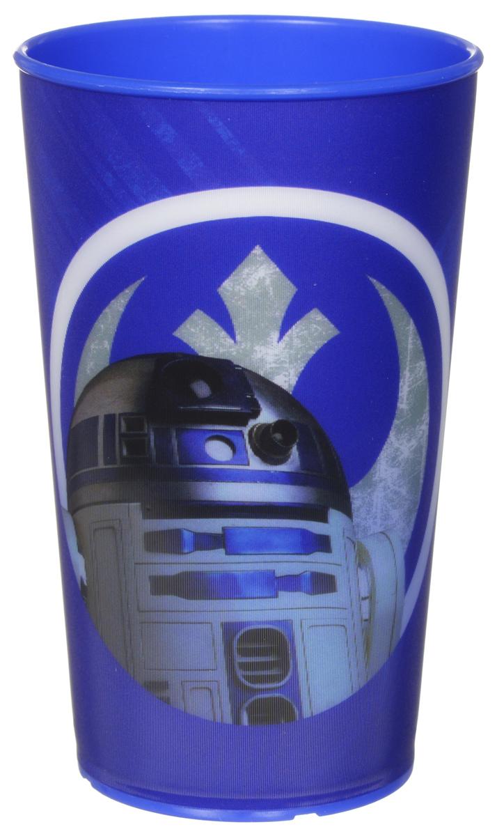 Star Wars Стакан детский R2D2 260 мл115010Детский стакан Star Wars R2D2 станет отличным подарком для любого фаната знаменитой саги. Он выполнен из полипропилена и оформлен рисунком с изображением дроида R2D2. Специальное покрытие с отливом делает изображение на стакане более объемным.Объем стакана: 260 мл. Не подходит для использования в посудомоечной машине и СВЧ-печи.