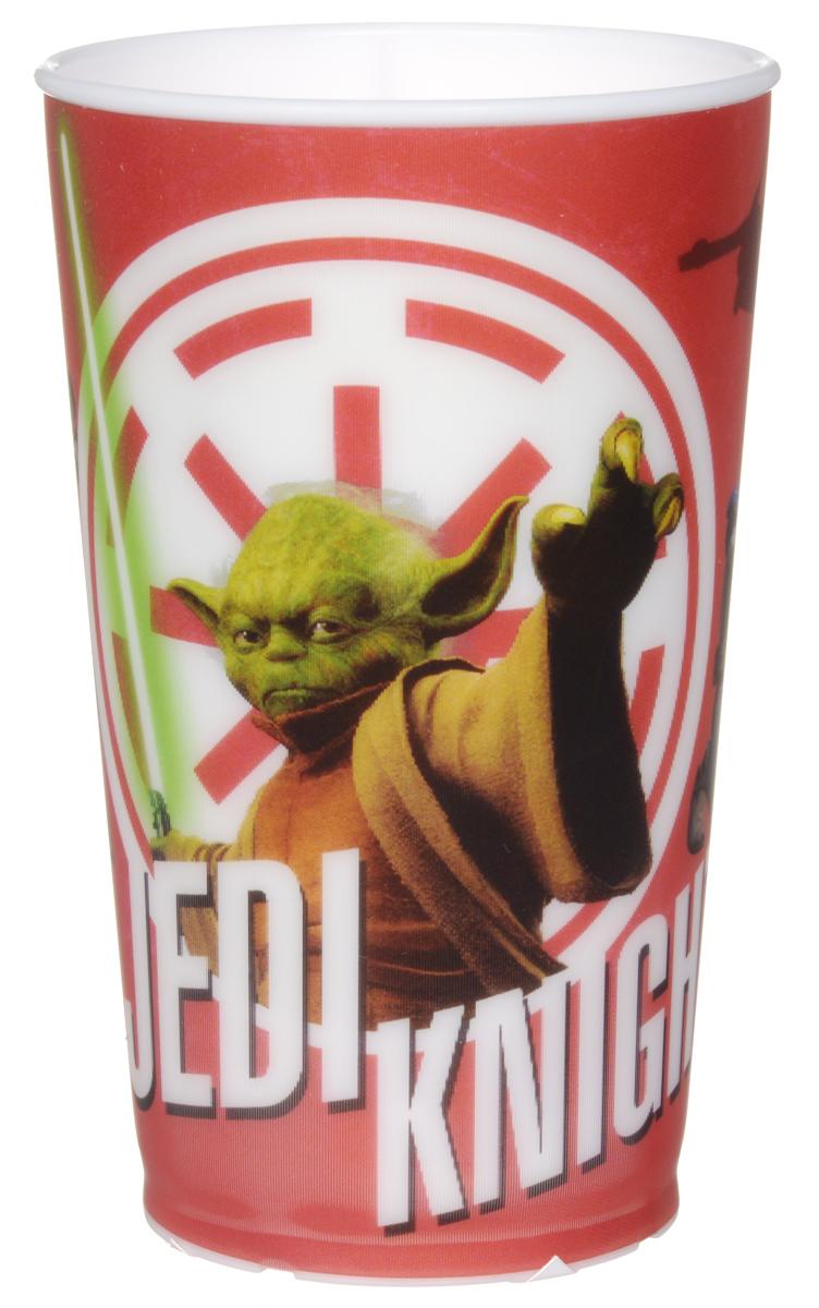 Star Wars Стакан детский Мастер Йода 260 мл54 009312Детский стакан Star Wars Мастер Йода станет отличным подарком для любого фаната знаменитой саги. Он выполнен из полипропилена и оформлен рисунком с изображением джедая Йоды. Специальное покрытие с отливом делает изображение на стакане более объемным.Объем стакана: 260 мл. Не подходит для использования в посудомоечной машине и СВЧ-печи.