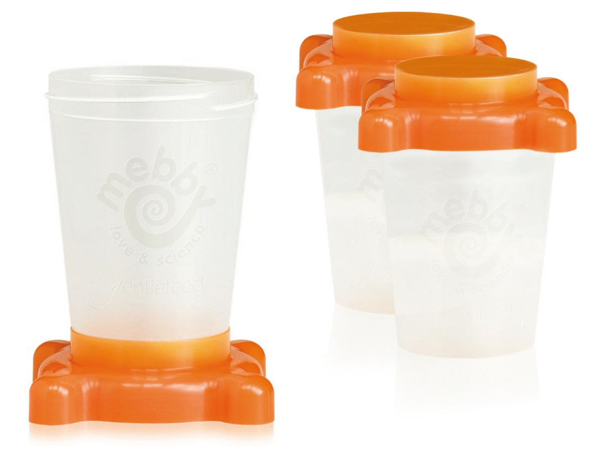 3 контейнера для хранения молока (детского питания)