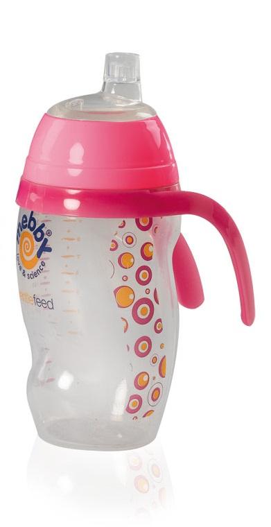 Mebby Чашка-поильник для девочки Made in Italy 6 месяцев цвет красный