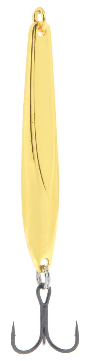 Блесна вертикальная зимняя Lucky John Model C, цвет: золотой, 4 см, 3 г удилище lucky john c tech trout 60см