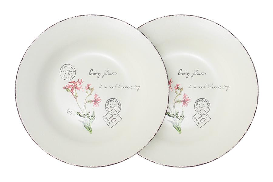 Набор суповых тарелок LF Ceramic Воспоминания, диаметр 21 см, 2 штLF-80E2256-1-ALНабор LF Ceramic Воспоминания состоит из двух суповых тарелок, изготовленных из высококачественной керамики. Яркий дизайн изделий, несомненно, придется вам по вкусу.Набор LF Ceramic Воспоминания украсит ваш кухонный стол, а также станет замечательным подарком к любому празднику.Диаметр (по верхнему краю): 21 см.