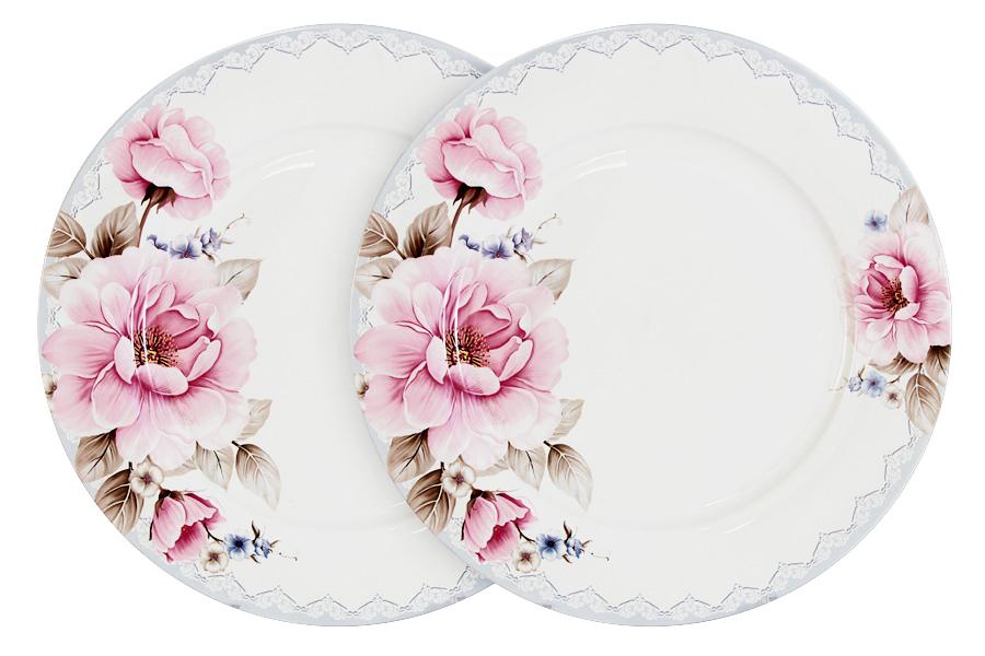 Набор обеденных тарелок Primavera Розовый блюз, диаметр 26,5 см, 2 шт72765Набор Primavera Розовый блюз состоит из двух обеденных тарелок, изготовленных из костяного фарфора высшего качества, отличающегося необыкновенной прочностью и небольшим весом. Яркий дизайн изделий, несомненно, придется вам по вкусу.Набор Primavera Розовый блюз украсит ваш кухонный стол, а также станет замечательным подарком к любому празднику.Диаметр (по верхнему краю): 26,5 см.