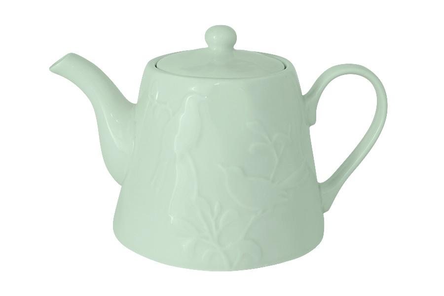 Чайник заварочный SantaFe Птицы, 1,3 л115510Заварочный чайник SantaFe Птицы, изготовленный из высококачественной керамики, оформлен изящным изображением.Изделие придется по вкусу и ценителям классики, и тем, кто предпочитает утонченность и изысканность.Заварочный чайник SantaFe Птицы украсит интерьер кухни и подчеркнет ваш безупречный вкус.