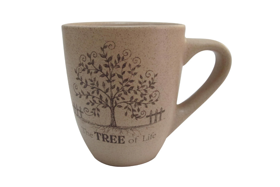 Кружка Terracotta Дерево жизни, 300 мл115510Кружка Terracotta Дерево жизни изготовлена из высококачественной керамики. Такая кружка прекрасно подойдет для горячих и холодных напитков. Она дополнит коллекцию вашей кухонной посуды и будет служить долгие годы. Диаметр кружки (по верхнему краю): 9 см.
