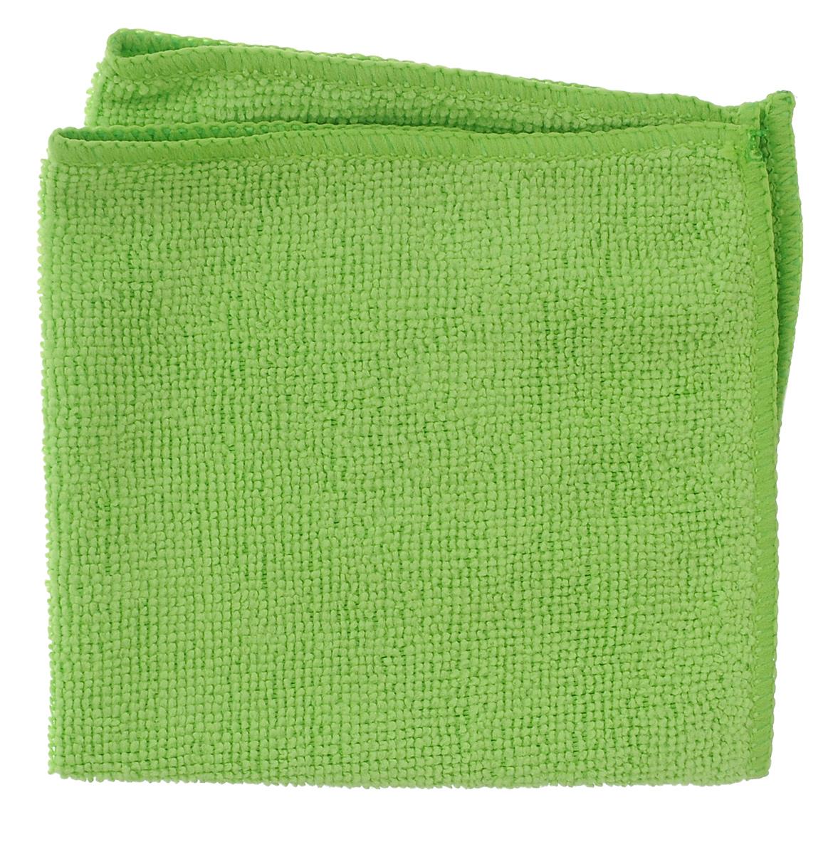 Салфетка универсальная Celesta, из микрофибры, цвет: салатовый, 30 см х 30 смES-412Салфетка Celesta, изготовленная из микрофибры (80% полиэстера и 20% полиамида), предназначена для сухой и влажной уборки. Подходит для ухода за любыми поверхностями. Благодаря специальной структуре волокон справляется с загрязнениями без использования моющих средств. Не оставляет разводов и ворсинок. Обладает отличными впитывающими свойствами.Размер салфетки: 30 см х 30 см.
