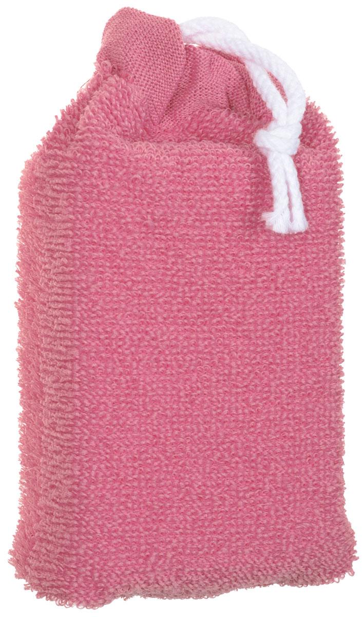 Губка для тела Riffi, цвет: розовый747_розовый
