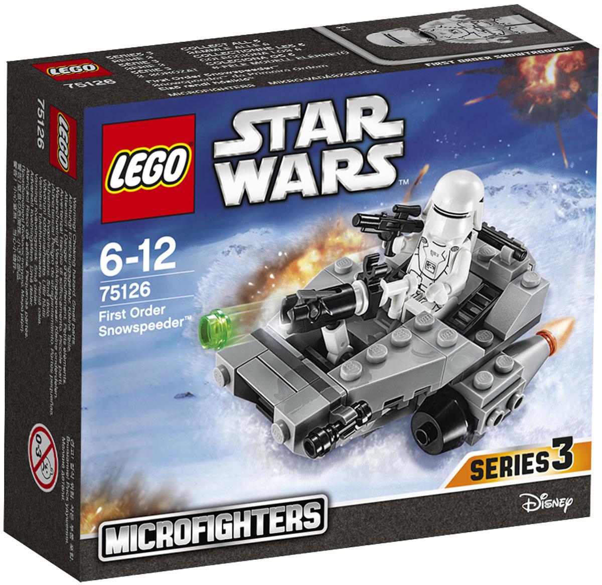 LEGO Star Wars Конструктор Снежный спидер Первого Ордена 75126 lego lego star wars снежный спидер первого ордена