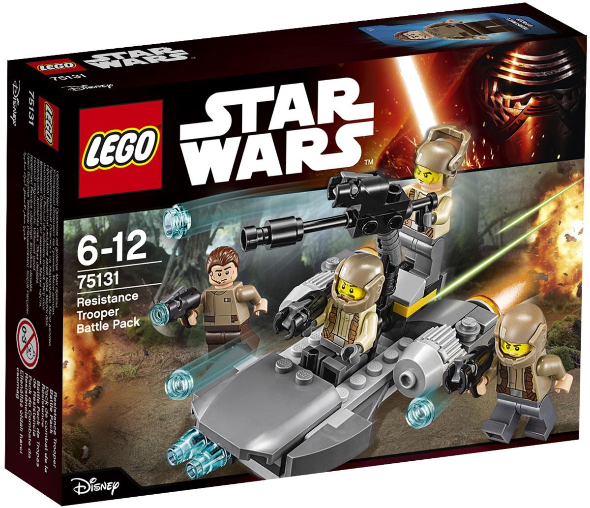 LEGO Star Wars Конструктор Боевой набор Сопротивления 75131  lego star wars 75131 боевой набор сопротивления