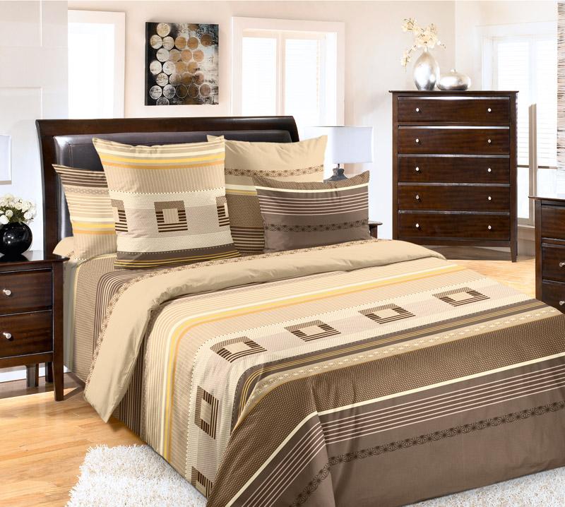 Комплект белья Текс-Дизайн Эдгар 4, 2-спальный, наволочки 70х704630003364517Великолепное постельное белье Текс-Дизайн Эдгар 4 из высококачественного перкаля (100% хлопок) и оформлено элегантным рисунком. Комплект состоит из пододеяльника, простыни и двух наволочек. Перкаль - это тонкая и легкая хлопчатобумажная ткань высокой плотности полотняного переплетения, сотканная из пряжи высоких номеров. При изготовлении перкаля используются длинноволокнистые сорта хлопка, что обеспечивает высокие потребительские свойства материала. Несмотря на свою утонченность, перкаль очень практичен - это одна из самых износостойких тканей для постельного белья.