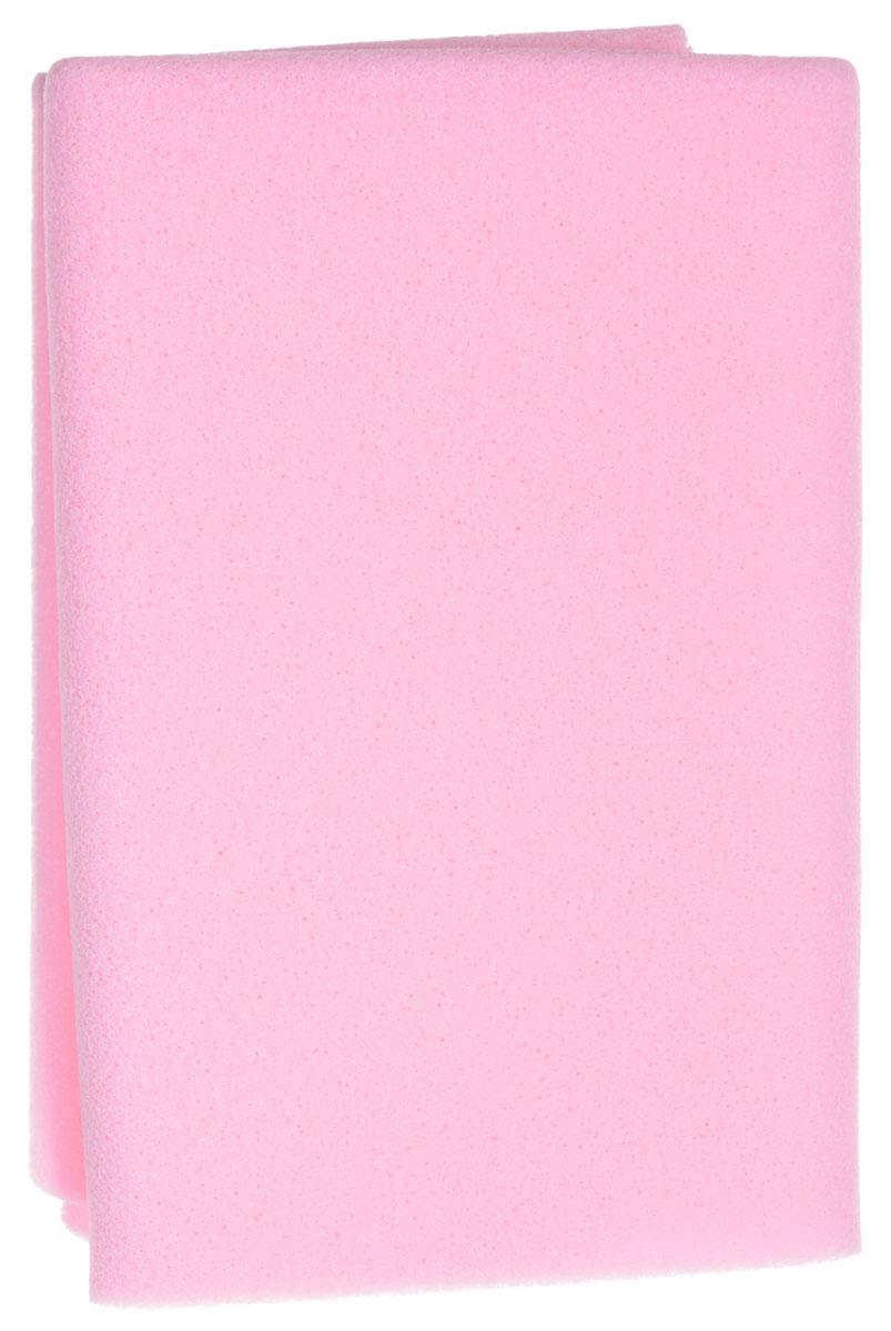 Салфетка косметическая Riffi Профи, губчатая, цвет: розовый390_розовый