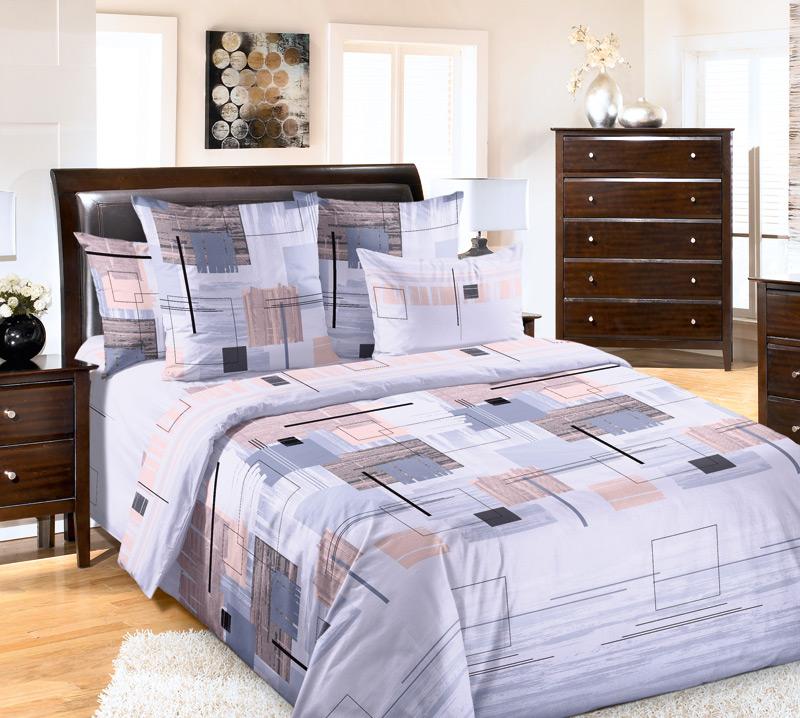 Комплект белья Текс-Дизайн Европа 1, 2-спальный, наволочки 70х70K100Великолепное постельное белье Текс-Дизайн Европа 1 выполнено из высококачественного перкаля (100% хлопок) и украшено изящным, эксклюзивным рисунком. Комплект состоит из пододеяльника, простыни и двух наволочек. Перкаль - это тонкая и легкая хлопчатобумажная ткань высокой плотности полотняного переплетения, сотканная из пряжи высоких номеров. При изготовлении перкаля используются длинноволокнистые сорта хлопка, что обеспечивает высокие потребительские свойства материала. Несмотря на свою утонченность, перкаль очень практичен - это одна из самых износостойких тканей для постельного белья.