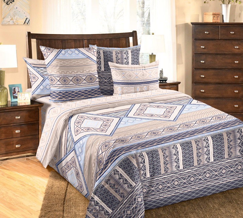 Комплект белья Белиссимо Финляндия, 2-спальный, наволочки 70х70, цвет: бежевый, синий, голубой391602Великолепное постельное белье Белиссимо Финляндия выполнено из высококачественной бязи (100% хлопок) и украшено изящным, эксклюзивным рисунком. Комплект состоит из пододеяльника, простыни и двух наволочек. Бязь - хлопчатобумажная плотная ткань полотняного переплетения. Отличается прочностью и стойкостью к многочисленным стиркам. Бязь считается одной из наиболее подходящих тканей, для производства постельного белья и пользуется в России большим спросом.