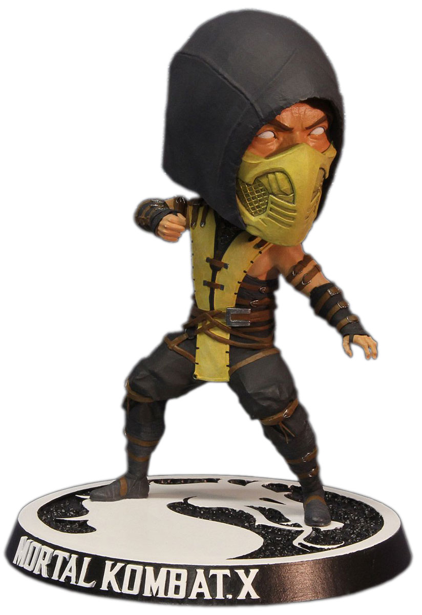 Mortal Kombat X. Фигурка Scorpion Bobblehead mortal kombat xl xbox one