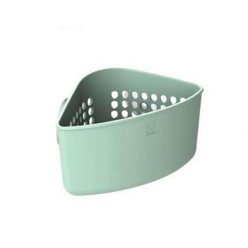 Уголок для раковины Caddy мятный. 330711-47312723Кухонные органайзеры Кедди пополнились новыми, лаконичными и очень удобными уголками для раковины. Они крепятся внутри раковины на сильные присоски (в комплекте). Уголки имеют множество дырочек, отвечающих сразу нескольким требованиям: с их помощью можно самим регулировать, куда вставить присоски - подойдёт в любую раковину, они позволяют воздуху циркулировать и лучше высушивать губки и щётки, и в конце концов, они обеспечивают уголку стильный дизайн.Размеры 16 х 10 х 10 см.