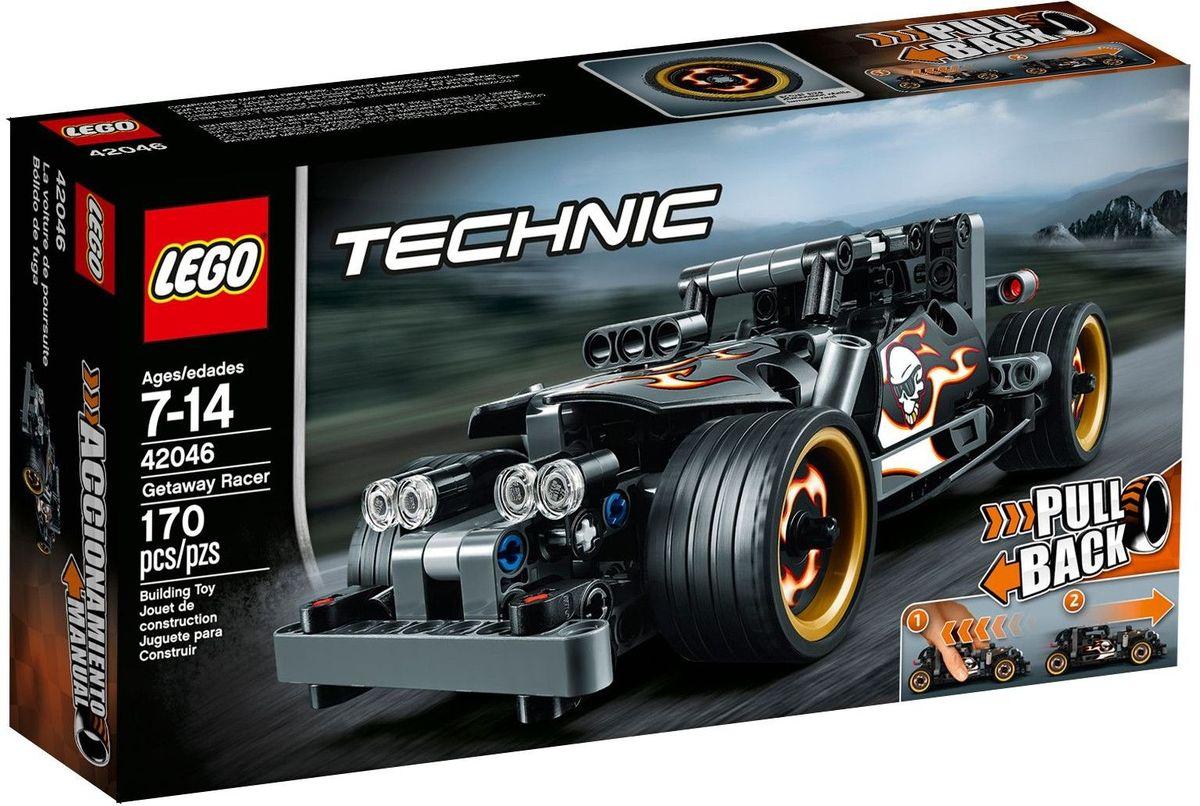 LEGO Technic Конструктор Гоночный автомобиль для побега 42046 lego technic конструктор гоночный автомобиль для побега