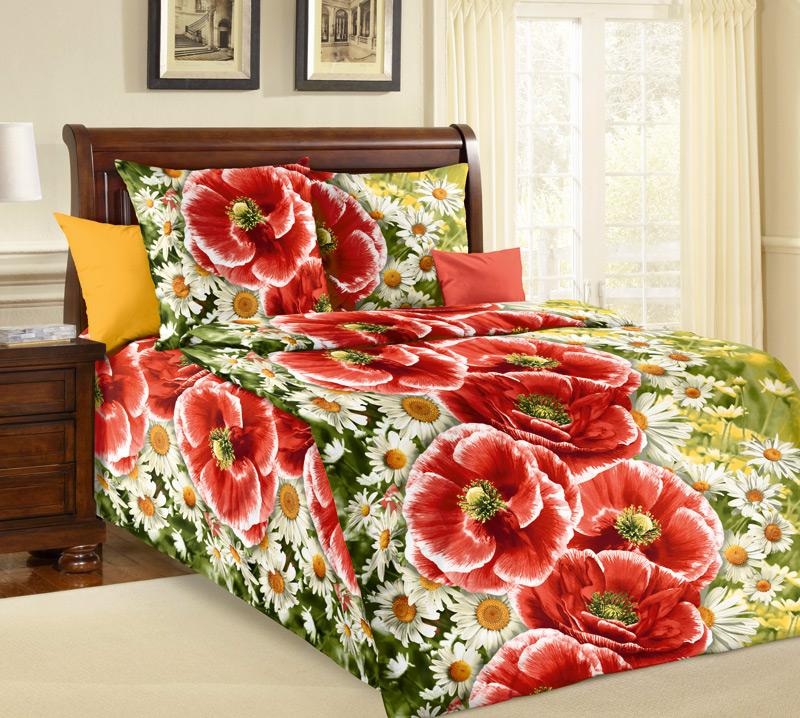 Комплект белья Белиссимо Ассоль 1, 1,5-спальный, наволочки 70х70CA-3505Великолепное постельное белье Белиссимо Ассоль 1 выполнено из высококачественной бязи (100% хлопок) и украшено ярким цветочным рисунком. Комплект состоит из пододеяльника, простыни и двух наволочек. Бязь - хлопчатобумажная плотная ткань полотняного переплетения. Отличается прочностью и стойкостью к многочисленным стиркам. Бязь считается одной из наиболее подходящих тканей, для производства постельного белья и пользуется в России большим спросом.