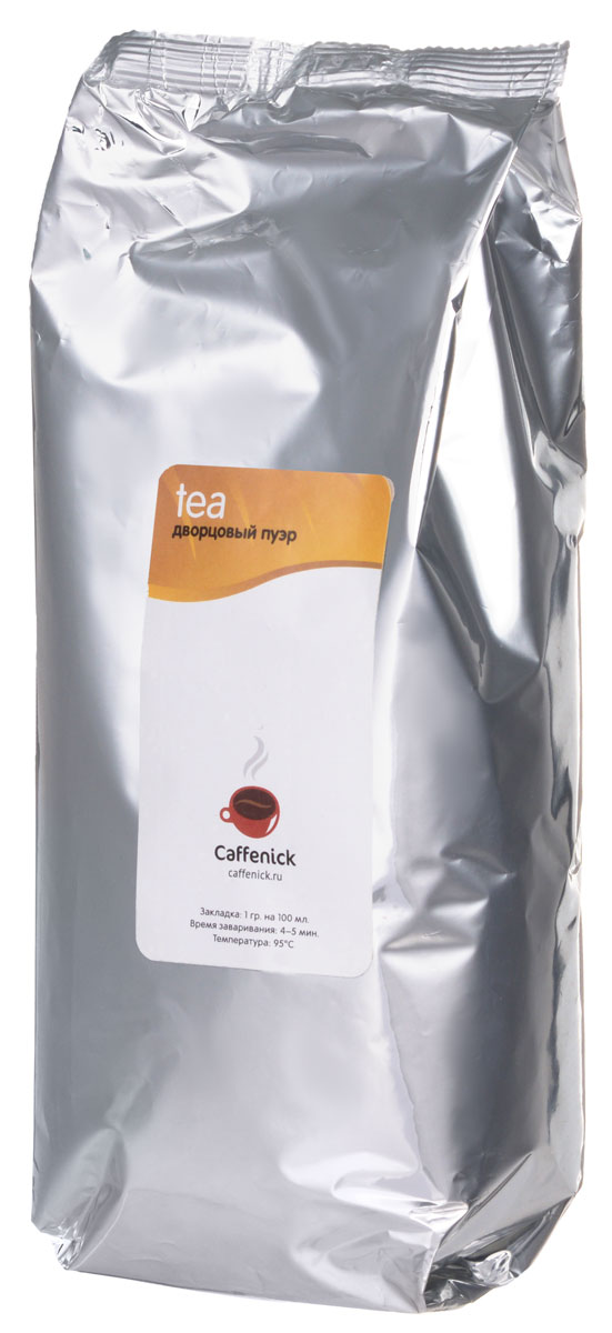 Caffenick Дворцовый Пуэр черный листовой чай, 500 г0120710Китайский черный чай Caffenick Дворцовый Пуэр.