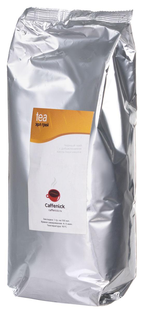 Caffenick Эрл Грэй черный листовой чай, 500 г0120710Черный чай Caffenick Эрл Грэй с добавлением масла бергамота.