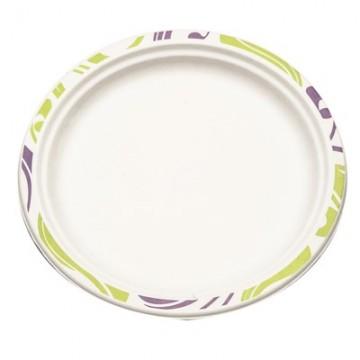 Набор одноразовых тарелок Chinet, диаметр 24 см, 50 штFA-5125 WhiteНабор Chinet состоит из 50 больших тарелок, выполненных из формованного бумажного волокна и предназначенных для одноразового использования. Уникальность технологии состоит в том, что после использования продукт утилизируется путем естественного биологического разложения в почве и не наносит вред окружающей среде. Тарелки подойдут для холодных и горячих пищевых продуктов. Изделия декорированы оригинальным контуром. Одноразовые тарелки будут незаменимы при поездках на природу, пикниках и других мероприятиях. Они не займут много места, легки и самое главное - после использования их не надо мыть.Диаметр тарелки: 24 см.Высота тарелки: 1,6 см.