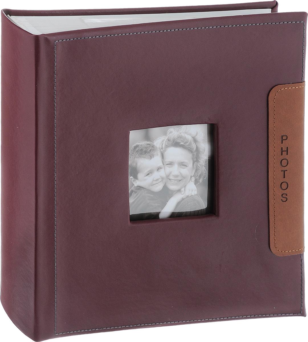 Фотоальбом Image Art, 200 фотографий, цвет: бордовый, 10 x 15 см BBM46200/2/04674-0120Фотоальбом Image Art поможет красиво оформить ваши самые интересные фотографии. Обложка выполнена из толстого картона. С лицевой стороны обложки имеется окошко для вашей самой любимой фотографии. Внутри содержится блок из 50 белых листов с фиксаторами-окошками из полипропилена. Альбом рассчитан на 200 фотографий формата 10 см х 15 см (по 2 фотографии на странице). Для фотографий предусмотрено поле для записей. Переплет - книжный. Нам всегда так приятно вспоминать о самых счастливых моментах жизни, запечатленных на фотографиях. Поэтому фотоальбом является универсальным подарком к любому празднику.Количество листов: 50.