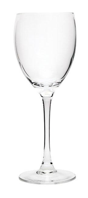 Набор фужеров для вина Luminarc Signature, 250 мл, 3 штVT-1520(SR)Набор Luminarc Signature состоит из трех классических фужеров, выполненных из прочного стекла. Изделия оснащены высокими ножками и предназначены для подачи вина. Они сочетают в себе элегантный дизайн и функциональность. Благодаря такому набору пить напитки будет еще вкуснее.Набор фужеров Luminarc Signature прекрасно оформит праздничный стол и создаст приятную атмосферу за романтическим ужином. Такой набор также станет хорошим подарком к любому случаю.Можно мыть в посудомоечной машине.Диаметр фужера (по верхнему краю): 6,5 см. Высота фужера: 20 см.