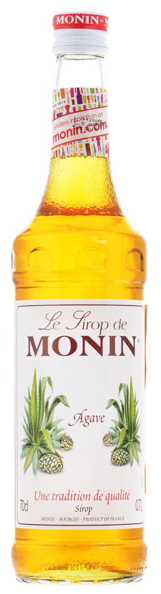 Monin Агава сироп, 0,7 л5060295130016Сироп Monin Агава производится только из органических компонентов. Обладая насыщенным вкусом, он станет полезным заменителем сахара при приготовлении коктейлей и десертов.Сиропы Monin выпускает одноименная французская марка, которая известна как лидирующий производитель алкогольных и безалкогольных сиропов в мире. В 1912 году во французском городке Бурже девятнадцатилетний предприниматель Джордж Монин основал собственную компанию, которая специализировалась на производстве вин, ликеров и сиропов. Место для завода было выбрано не случайно: город Бурже находился в непосредственной близости от крупных сельскохозяйственных районов - главных поставщиков свежих ягод и фруктов.