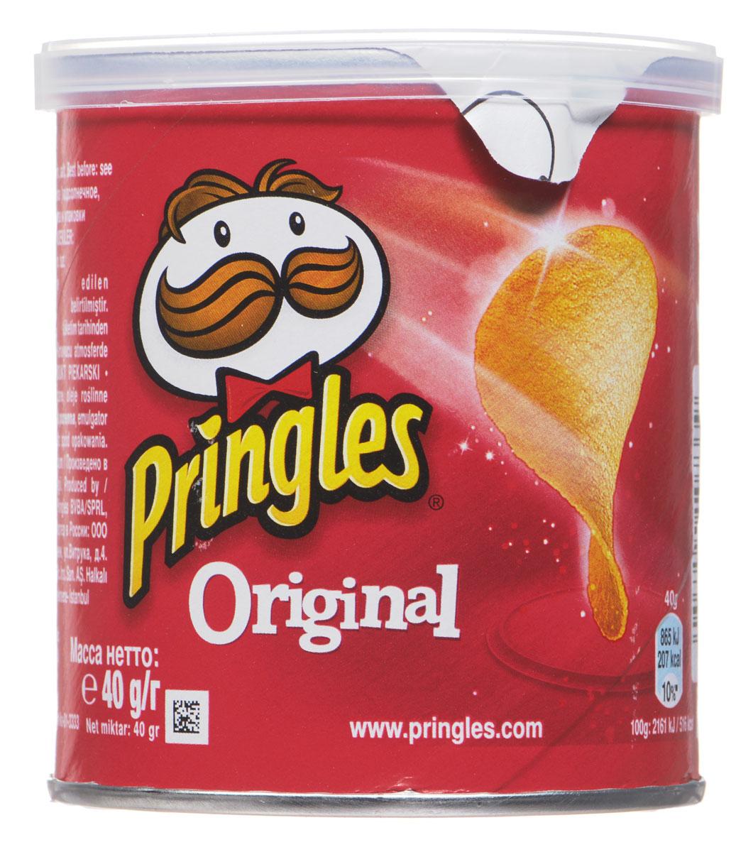 Pringles Original картофельные чипсы, 40 г