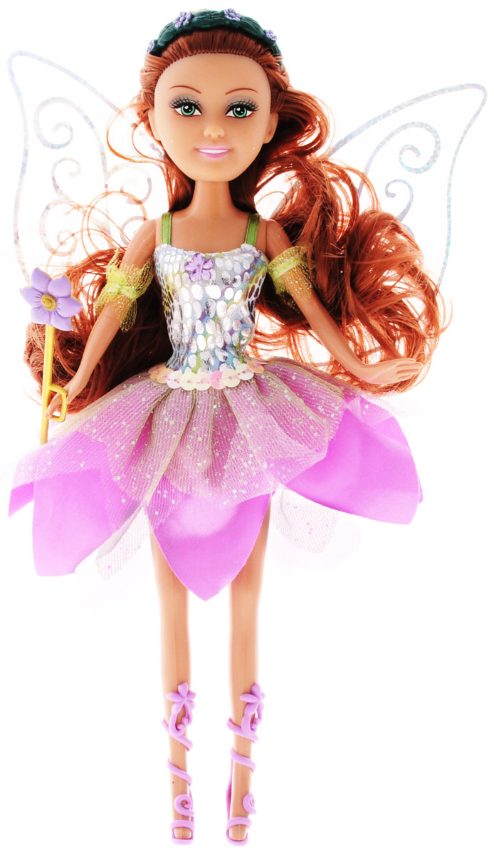 ABtoys Кукла Brilliance Fair Цветочная фея цвет платья сиреневый кукла brilliance fair балерина 26 5 см