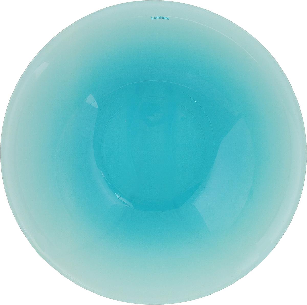 Салатник Luminarc Fizz Frozen, диаметр 16,5 смH1497Салатник Luminarc Fizz Frozen выполнен из ударопрочного стекла. Яркий дизайн придется по вкусу и ценителям классики, и тем, кто предпочитает утонченность и изысканность. Салатник Luminarc Fizz Frozen идеально подойдет для сервировки стола и станет отличным подарком к любому празднику.Диаметр (по верхнему краю): 16,5 см.