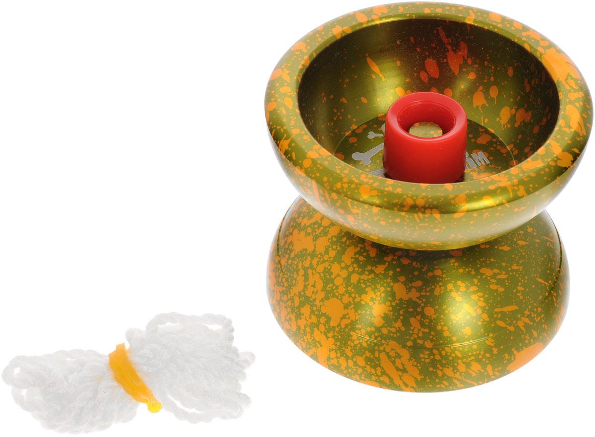 Aero-Yo Йо-йо Aero Storm цвет зеленый оранжевый игрушка йо йо 1 toy на палец