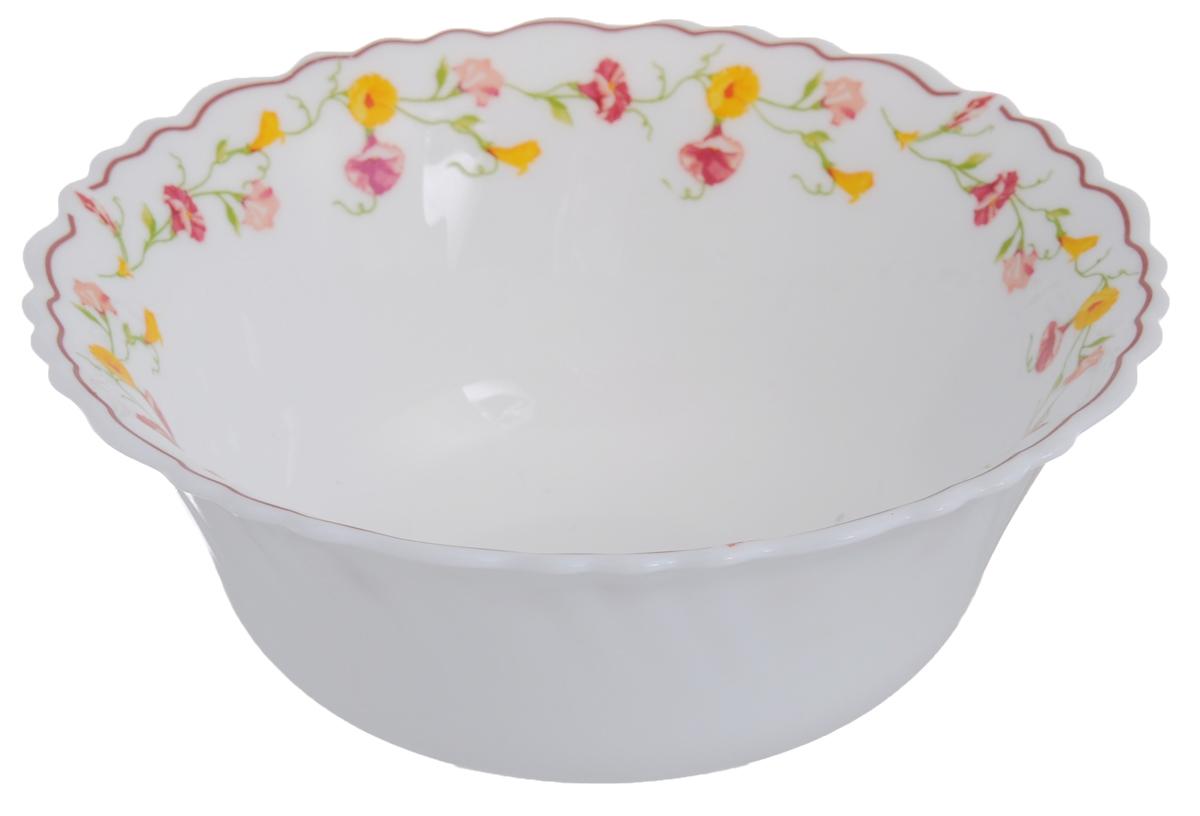 Салатник Chinbull Эльзас, диаметр 15,5 см391602Салатник Chinbull Эльзас выполнен из высококачественной стеклокерамики и декорирован ярким изображением цветов. Салатник сочетает в себе изысканный дизайн с максимальной функциональностью. Он прекрасно впишется в интерьер вашей кухни и станет достойным дополнением к кухонному инвентарю. Салатник Chinbull Эльзас не только украсит ваш кухонный стол и подчеркнет прекрасный вкус хозяйки, но и станет отличным подарком.Можно использовать в посудомоечной машине и СВЧ.Диаметр (по верхнему краю): 15,5 см.Высота стенки: 6 см.