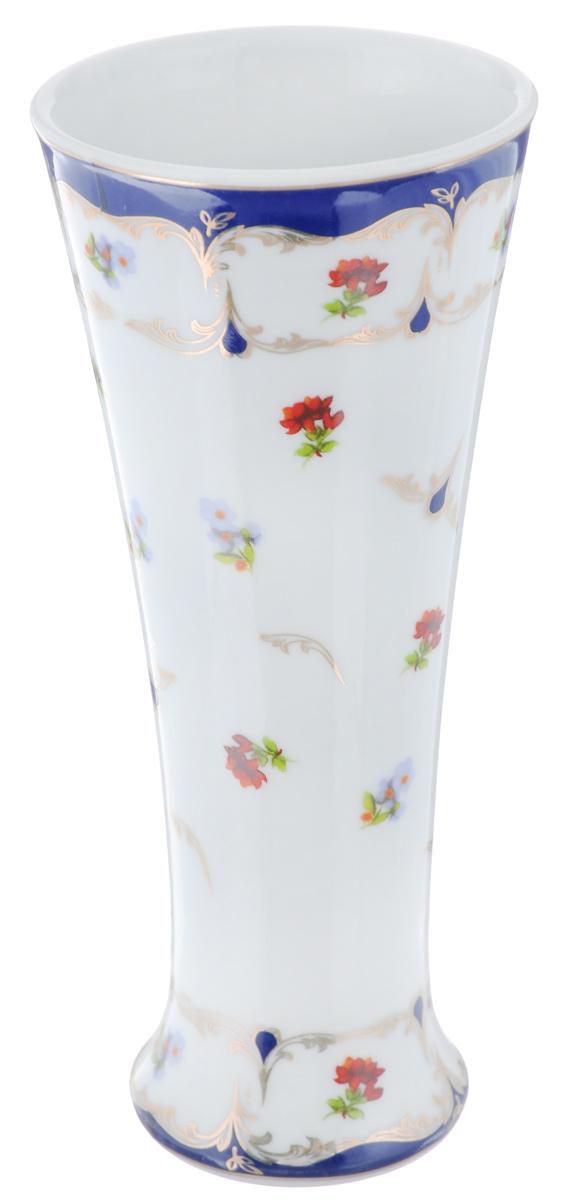 Ваза Elan Gallery Цветочек, высота 18 смFS-80418Декоративная ваза Elan Gallery Цветочек украсит ваш интерьер и будет прекрасным подарком для ваших близких! Изделие выполнено из высококачественного фарфора и украшено ярким рисунком. Оригинальный дизайн наполнит ваш дом праздничным настроением. Такая ваза станет желанным подарком для ваших близких!Диаметр вазы по верхнему краю: 7,7 см.Диаметр дна: 5,5 см.Высота вазы: 18 см.