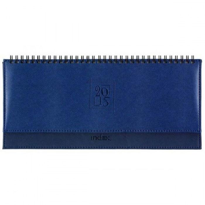Index Планинг Deli недатированный 64 листа цвет синий72523WDНедатированный планинг Index Deli - это один из удобных способов систематизации всех предстоящих событий и незаменимый помощник для каждого. Обложка выполнена из высококачественной искусственной кожи, с прострочкой по периметру и поролоновой подкладкой на верхней части обложки.Внутренний блок - белый офсет плотностью 80 г/м2, двухцветная печать, разворот - одна рабочая неделя. Помимо листов для ежедневного планирования вы найдете:Страницу для записи личных данных;Календарь на 2015-2018 гг.;Список телефонных кодов;Краткую информацию по странам мира (столица, язык, валюта). Все планы и записи всегда будут у вас перед глазами, что позволит легко ориентироваться в графике дел, событий и встреч.