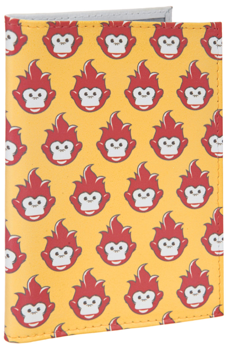 Обложка для автодокументов Много огненных обезьян. AUTO384BV.2/1.KR. макЯркая обложка для автодокументов Mitya Veselkov Много огненных обезьян выполнена из натуральной кожи и оформлена принтом с изображением обезьянок.Изделие раскладывается пополам. Внутри расположены два накладных кармана из пластика и пластиковый вкладыш, состоящий из пяти файлов для автодокументов.Обложка для автодокументов поможет сохранить внешний вид ваших документов и защитить их от повреждений, а также станет стильным аксессуаром, который подчеркнет ваш образ.