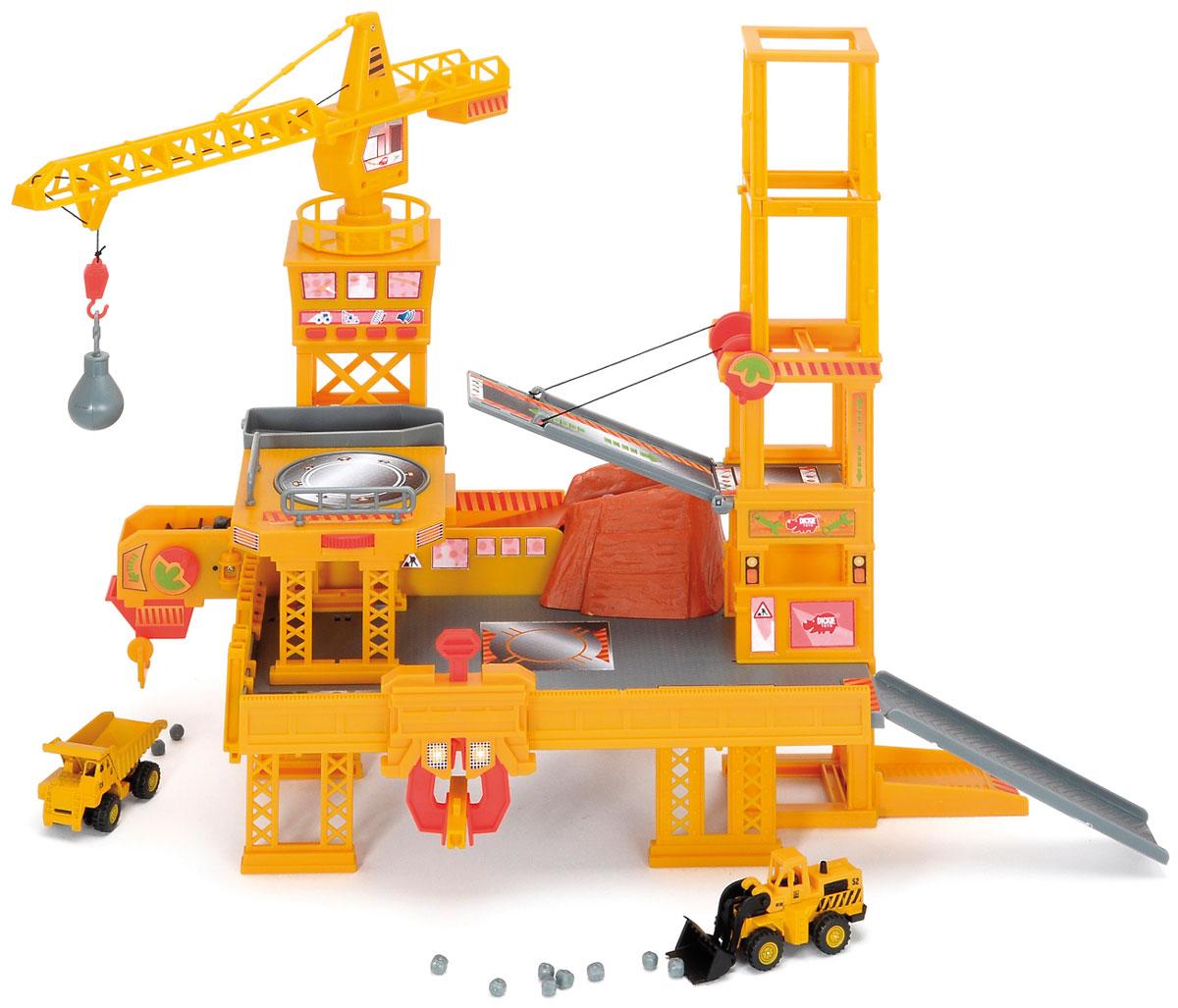 Dickie Toys Игровой набор Строительная площадка dickie toys игровой набор маяк