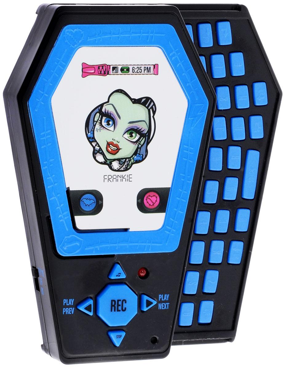 Monster High Электронная игрушка Телефон цвет голубой телефон с русской qwerty клавиатурой