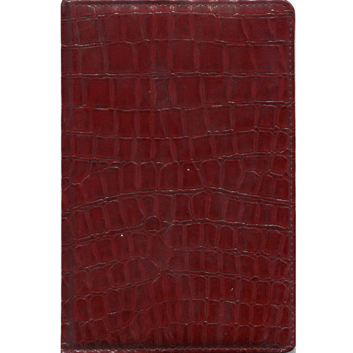Index Ежедневник Croco недатированный 168 листов цвет красныйIDN009/A5/RDНедатированный ежедневник Index Croco - это один из удобных способов систематизации всех предстоящих событий и незаменимый помощник для каждого. Обложка выполнена из высококачественной искусственной кожи, с прострочкой по периметру и поролоновой подкладкой. Внутренний блок - тонированная бумага плотностью 80 г/м2, двухцветная печать, ляссе, разворот - два рабочих дня.Помимо листов для ежедневного планирования вы найдете:Страницу для записи личных данных;Календарь на 2013-2016 гг.;Список телефонных кодов;Список номеров штрих-кодов, размеры одежды, различные единицы измерения. Все планы и записи всегда будут у вас перед глазами, что позволит легко ориентироваться в графике дел, событий и встреч.