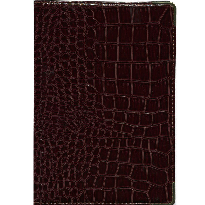 Index Ежедневник Croco недатированный 168 листов цвет коричневый60Б6Aгр_12691Недатированный ежедневник Index Croco - это один из удобных способов систематизации всех предстоящих событий и незаменимый помощник для каждого. Обложка выполнена из высококачественной искусственной кожи, с прострочкой по периметру, поролоновой подкладкой и металлическими уголками. Внутренний блок - тонированная бумага плотностью 80 г/м2, двухцветная печать, ляссе, разворот - два рабочих дня.Помимо листов для ежедневного планирования вы найдете:Страницу для записи личных данных;Календарь на 2013-2016 гг.;Список телефонных кодов;Список номеров штрих-кодов, размеры одежды, различные единицы измерения. Все планы и записи всегда будут у вас перед глазами, что позволит легко ориентироваться в графике дел, событий и встреч.