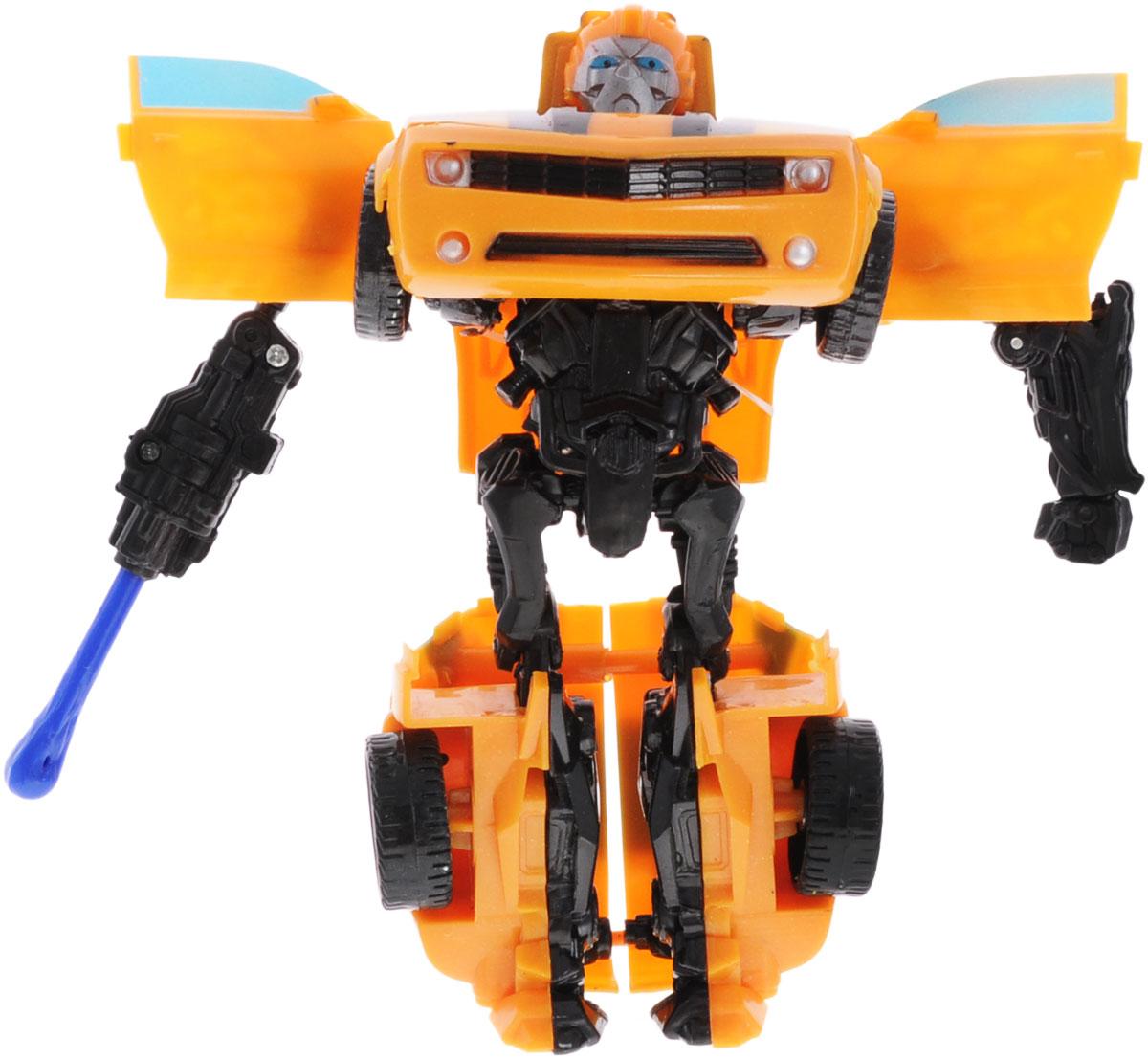 Тилибом Робот-трансформер цвет желтый черный робот трансформер mengbadi 106 blue