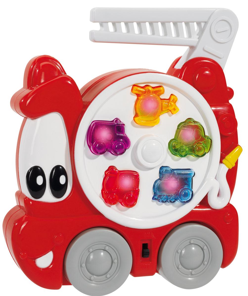 simba развивающая игрушка с молоточком simba Simba Музыкальная игрушка Пожарная машина