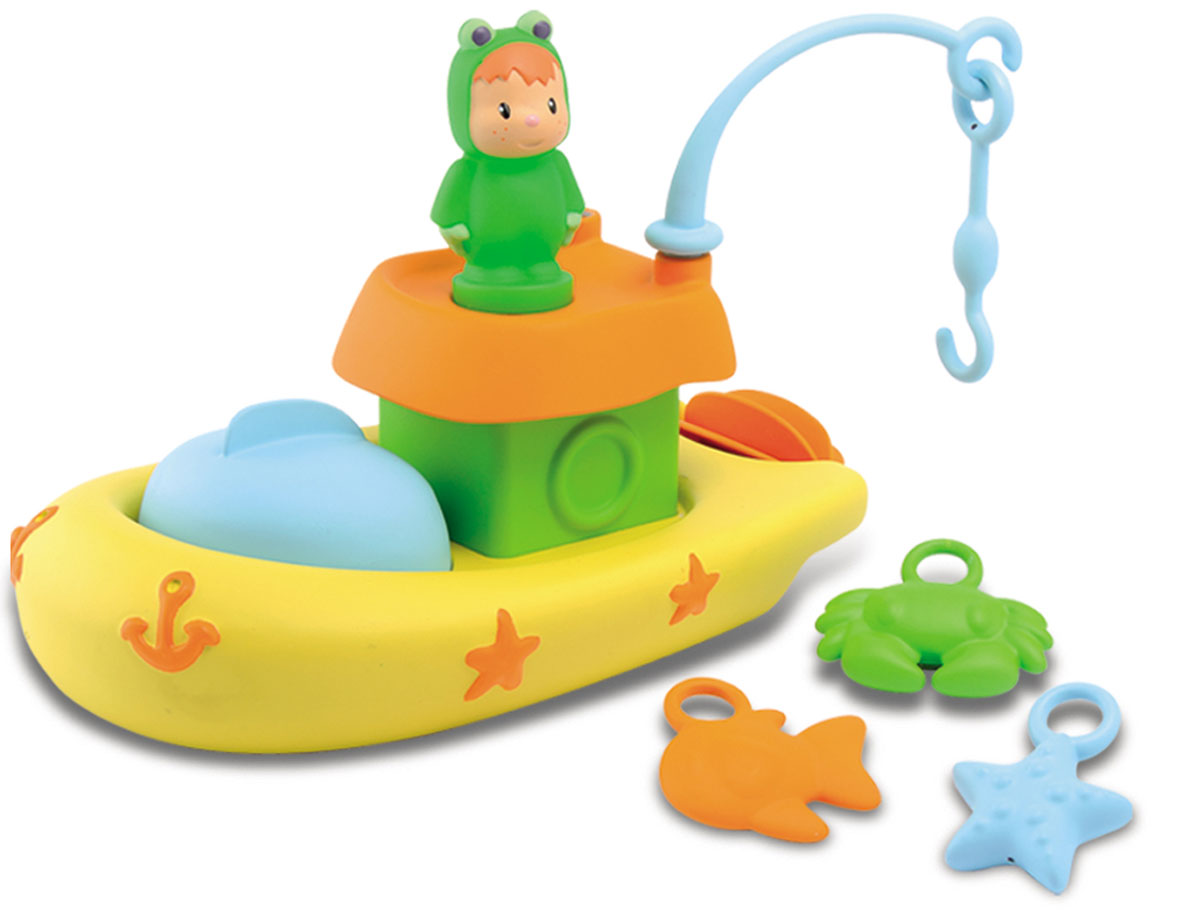 Smoby Игрушка для ванной Рыбацкая лодка