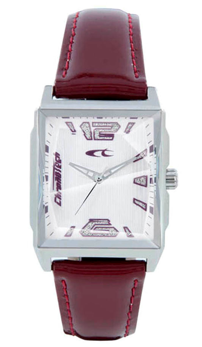 Наручные часы женские Chronotech Uptown, цвет: бордовый. RW0058BM8434-58AEЧасы наручные CHRONOTECH RW0058