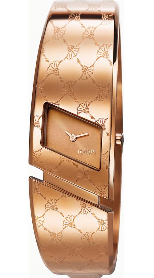 Наручные часы женские JOOP! Angular, цвет: розовый. JP101302F04BM8434-58AEЧасы наручные Joop! JP101302F04