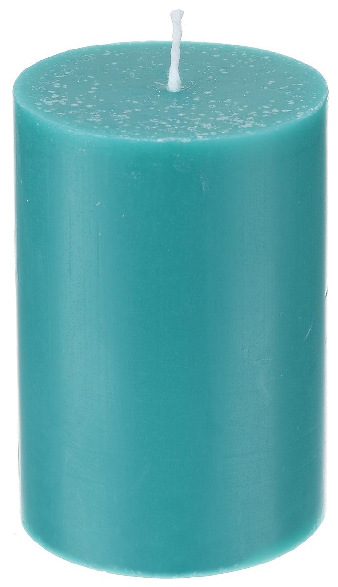 Свеча декоративная Proffi, цвет: зеленый, высота 8 см28907 4Декоративная свеча Proffi выполнена из парафина и стеарина в классическом стиле. Изделие порадует вас ярким дизайном. Такую свечу можно поставить в любое место, и она станет ярким украшением интерьера. Свеча Proffi создаст незабываемую атмосферу, будь то торжество, романтический вечер или будничный день.