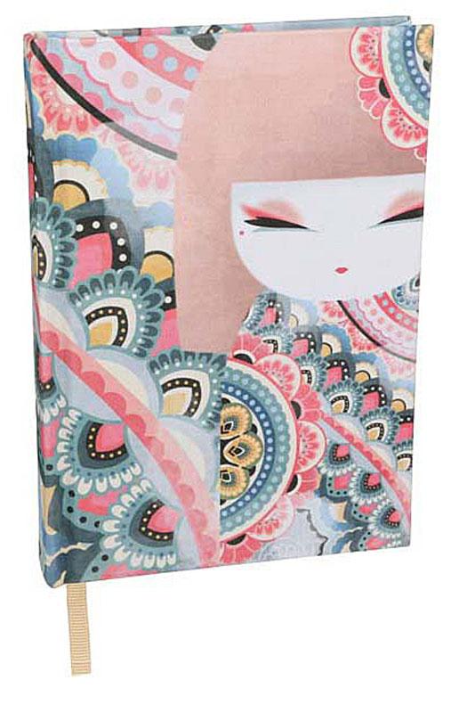Kimmidoll Записная книжка Премиум Харуйо1157-100Записная книжка Харуйо с оригинальным дизайном будет гармонично сочетаться с обстановкой рабочего стола стильной модницы. Необычная обложка из ткани премиум класса и рисунок, делают дизайн более стильным и придают еще больший изыск изделию. Внутренний блок содержит 96 разлинованных в полоску листов. Стильная и яркая записная книжка для заметок надежно сохранит все самые важные записи, мечты, воспоминания или даже лекции.
